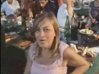 Cena Sociale 2008 del Rione Mota: Canti e balli