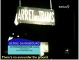 Serge Gainsbourg Le Poinçonneur des Lilas English subtitles