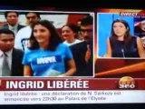 Colombie: Ingrid Betancourt et 14 autres otages libérés