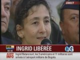 Liberation Ingrid Betancourt : Premier Discours d Ingrid