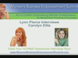 Carolyn Ellis at Womens Business Empowerment Summit pt.5