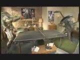 Alien vs Predator : match de ping-pong