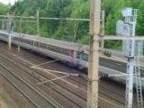 Train Corail Intercités en provenance de Paris-Nord