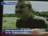 Ingrid Betancourt Liberation  otages helicoptere farc