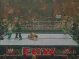 Matt Hardy/Finlay/Hornswoggle vs. Chavo/Morrison/Miz Pt 2/2