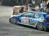 Da Cunha 206 WRC Rallye Rouergue Moyrazès 2008