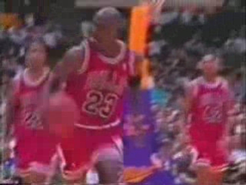 NBA BASKETBALL - Mickael Jordan bloopers