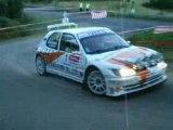 Eric Mauffrey 306 Maxi rallye du Rouergue 2008