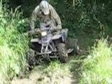 Quad sortie quad funy deboire boue montage