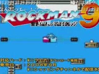 Mega Man 9 - first footage