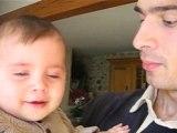 04.04.2008 noa et rodrigue le gag un chewing gum fou fou fou