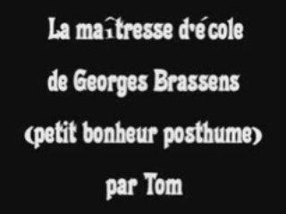 La maîtresse d'école - Georges Brassens