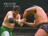 Mitsuharu Misawa vs. Kenta Kobashi, NOAH, 2003, Part 1.
