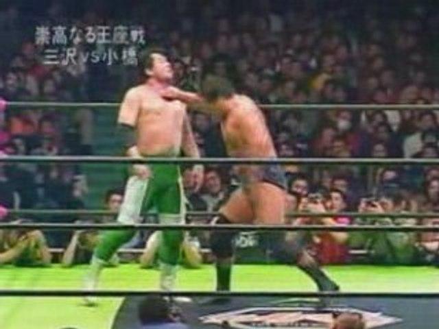 Mitsuharu Misawa vs. Kenta Kobashi, NOAH, 2003, Part 2.