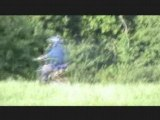Dirt bike 125cc dans la plaine du Saleve (74)