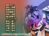 Générique de fin Naruto