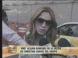 RBD aclara rumores de salida de Christian (ETV)