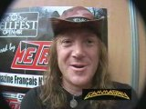Kaï of Gamma Ray in Hellfest 2008-Why are you creative?