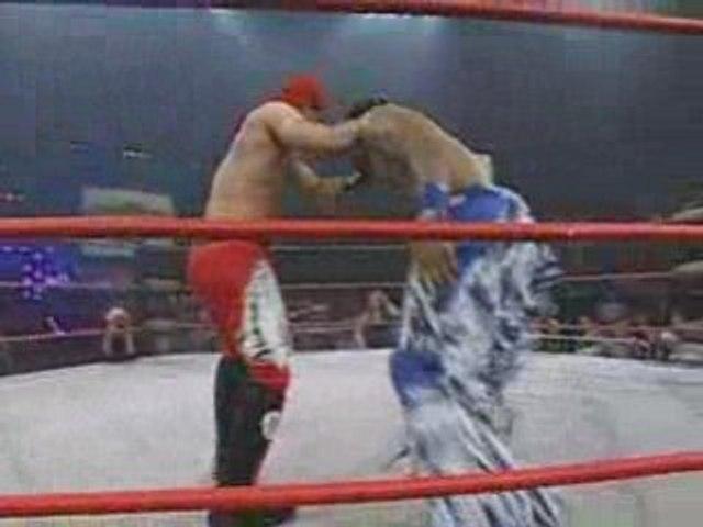 TNA Victory Road Sonjay Dutt vs Jay Lethal