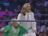 WWE Smackdown 7/18/08 - Edgeheads vs Finlay & Hornswoggle