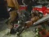 Rock vs Big Show vs HHH (WWF Title Match) part 1