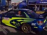 Subaru Impreza WRC sound rallye Monte Carlo 2008