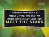 Hannah Montana And Miley Cyrus BOBW Concert - Meet The Star