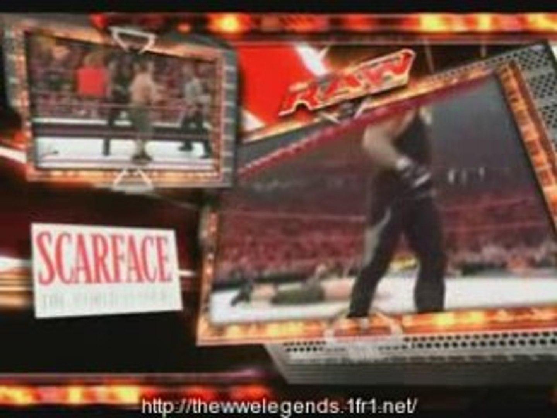 Undertaker vs John cena  2006 Raw Family Reunion
