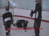 Hockey Drill - Protecting The Puck - For Hockey Coach Skills