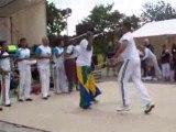 Démonstration de Capoeira par le groupe Axé Brasil
