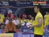 2008 Badminton Thomas Cup Final MD1 game 1 1/2
