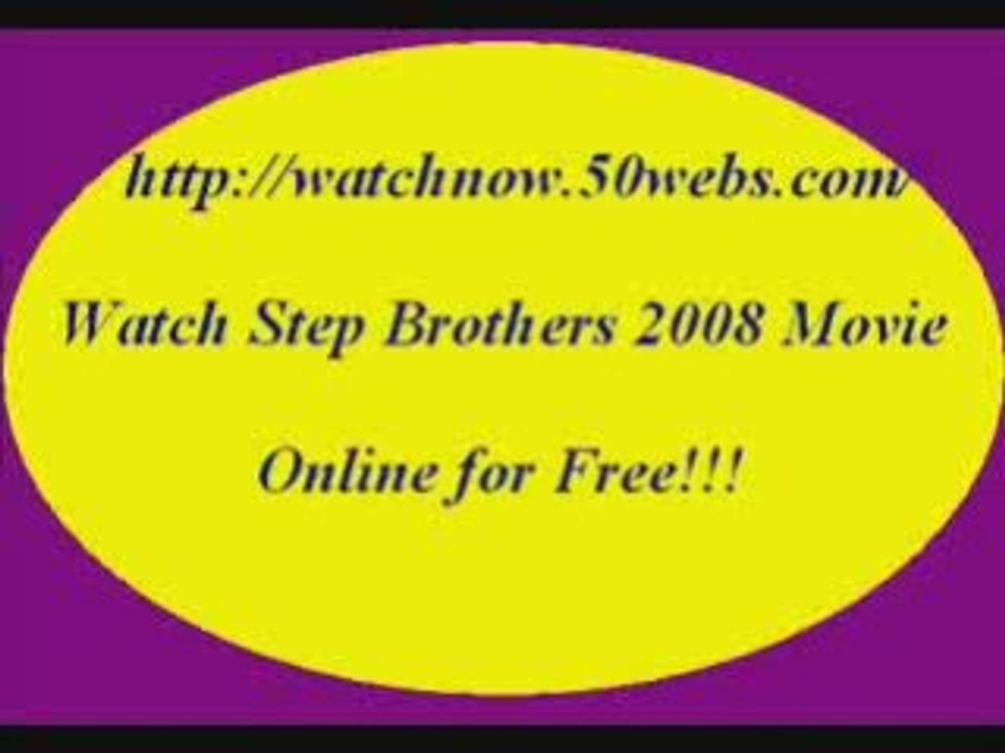 Watch Step Brothers Movie Online For Free Video Dailymotion