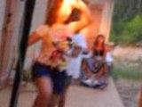 danse des sisters - fete lauriane - 19/07/92