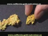 Gold Nuggets - Crystalline gold - California gold nuggets