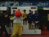 championnats d'europe des jeunes finale double cadets podium