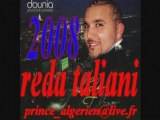 REDA TALIANI 2008 RAÏ ALGERIEN - HARAGA