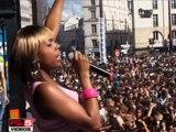 HAKIMAKLI : LIVE @ LA MARCHE DES FIERTES 2008 RADIO FG