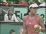 Ivanovic vs. Safina, 2008 Roland Garros Final Set1 Part3