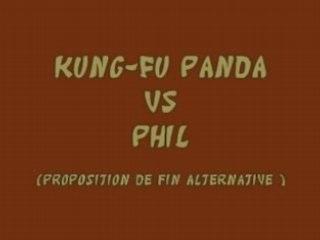 Kung-fu Panda vs Phil