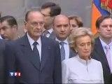 le Président Jacques Chirac en Arménie 2006
