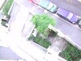 Chouille 24.07.08 Poubelles au balcon