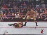 WWE - Batista Power Bomb on Kane