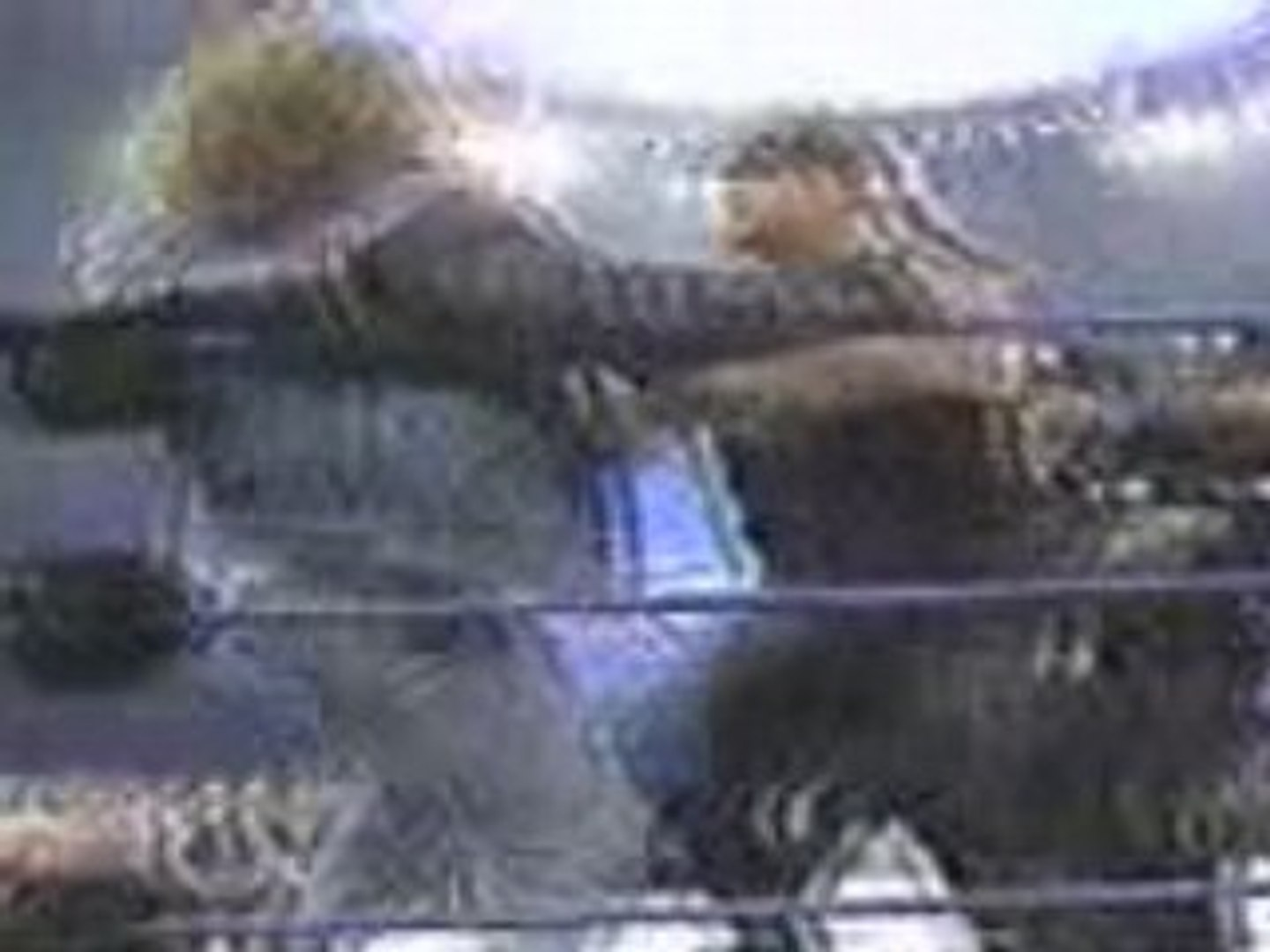Undertaker throws hhh on the police