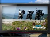 Balade moto dans les Pyrénées