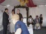 Mariage au mondial amuseur public