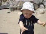 1ers pas dans le sable
