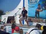 Beach Rugby Anglet HAKA