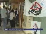 Conf de presse: les retenus de Vincennes à Nimes- le bilan