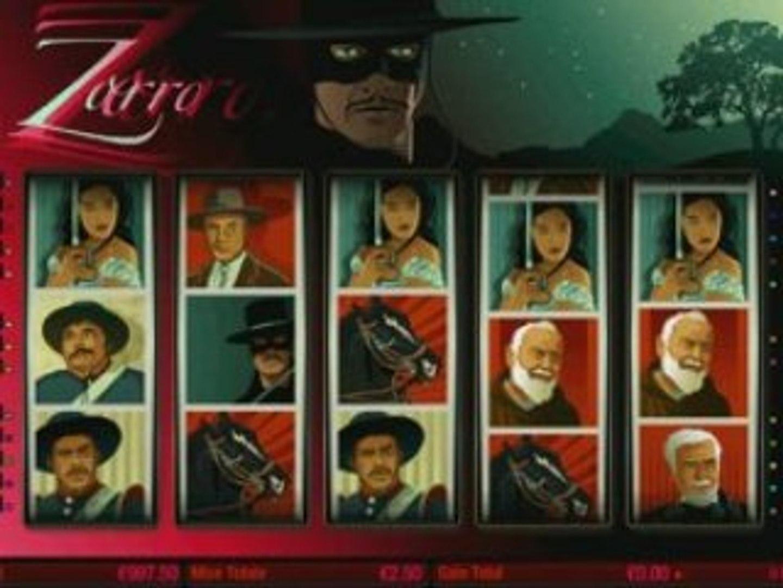 Zorro Slots machine a sous du Casino en ligne Paris Win
