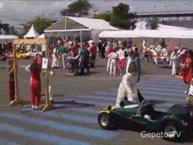 Animation Jeux en Bois, Le Mans Classic 2008